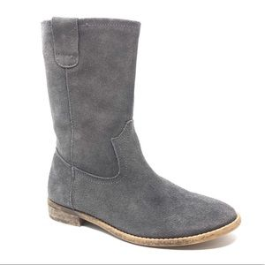Jeffrey Campbell Suede Western Boots
